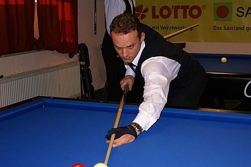 Johann Claessen konnte nach gutem Spiel nur gratulieren