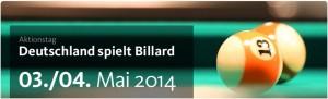 Deutschland spielt Billard
